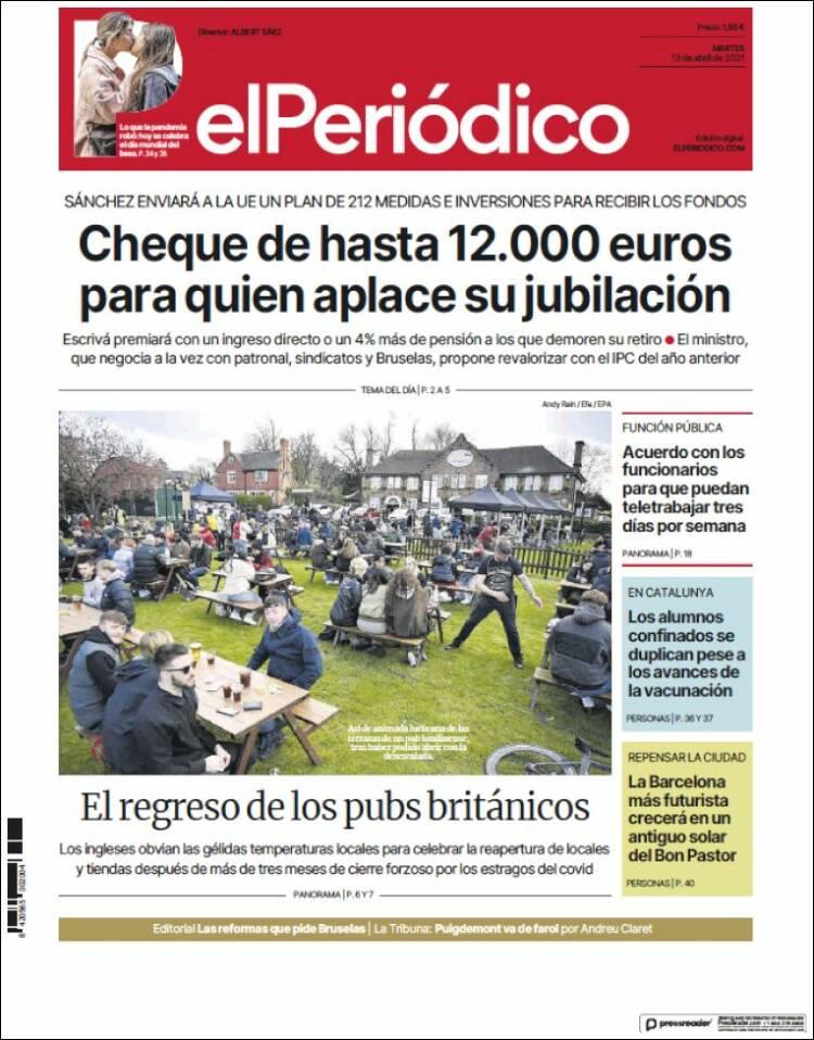 Portada El Periodico